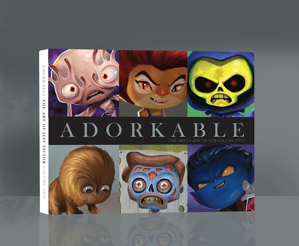 Image of Adorkable: the Art of Jeff Victor Volume Two