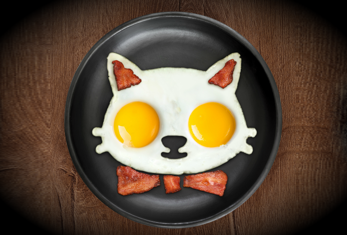 Image of Cat Egg Mold