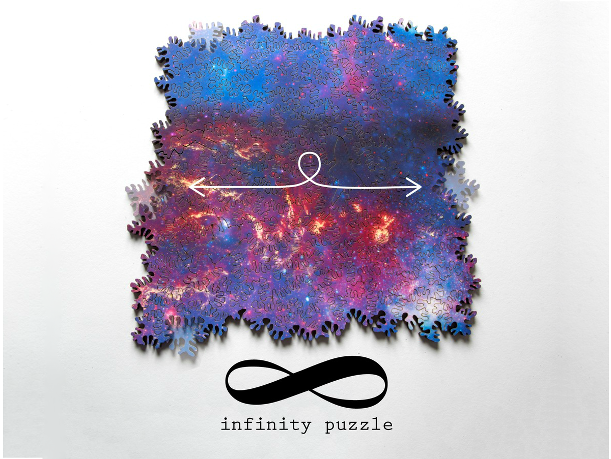 Image of Edgeless Infinite Galaxy Puzzle by Nervous System