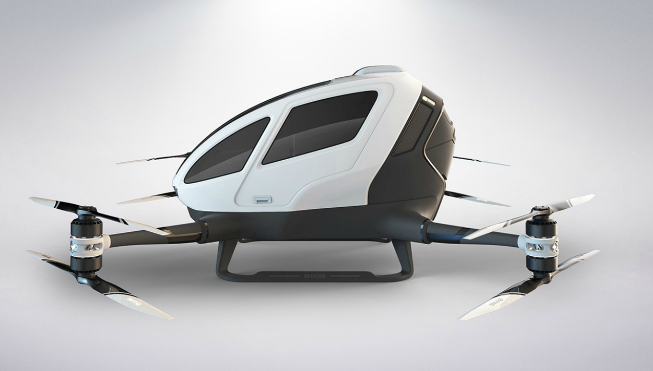 Chinese Company Unveils A New Supersized Drone That You
