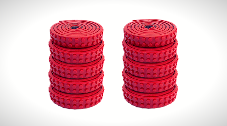 Image of Lego Tape – Nimuno Loops Let You Build Anywhere!