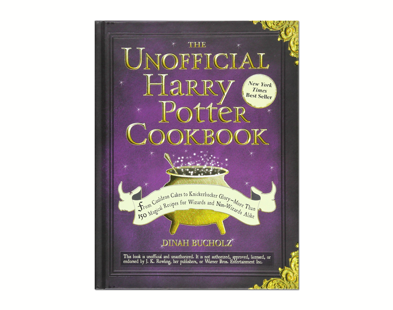 Image of The Unofficial Harry Potter Cookbook: From Cauldron Cakes to Knickerbocker Glory