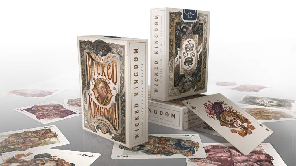 Image of Wicked Kingdom – Illustrated Playing Cards